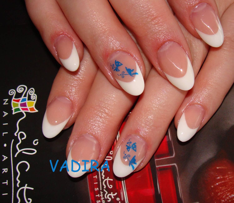 Красивые нарощенные ногти овальные фото